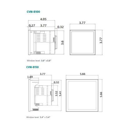 CVM-B Detail Dimensions